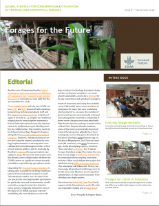Forages for the Future Newsletter